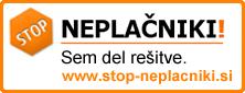 Stop Neplačniki - Sem del rešitve.